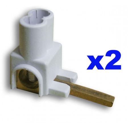 Borne de raccordement horizontale X2