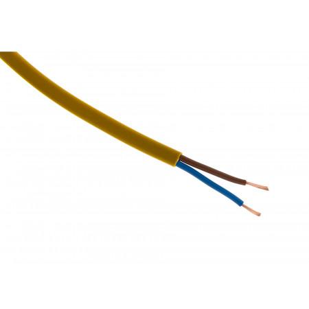 Câble électrique H03VVH2F 2X0.75 or 10m