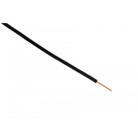 Câble électrique H07VU 1,5 mm² noir 100m