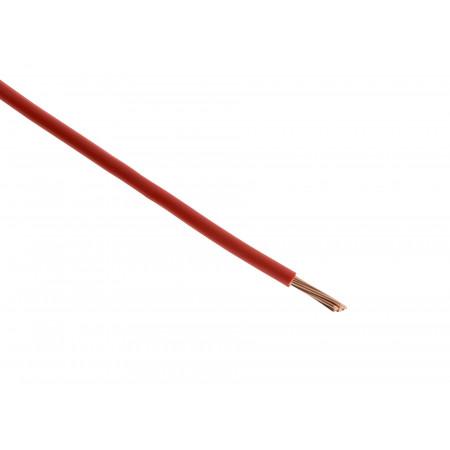 Fil électrique H07VR 16mm² rouge - Au mètre