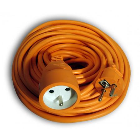 Rallonge électrique 50m orange