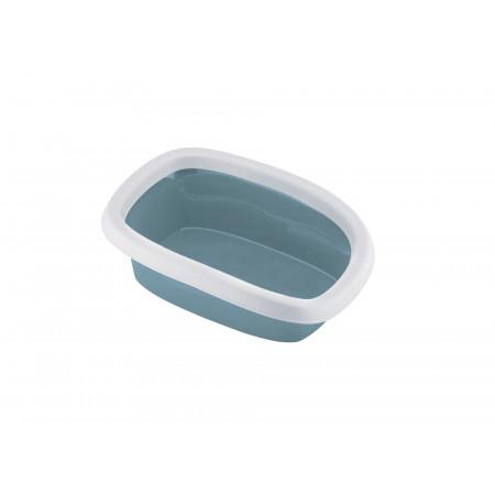 Bac à litière chat Sprint 10 bleu