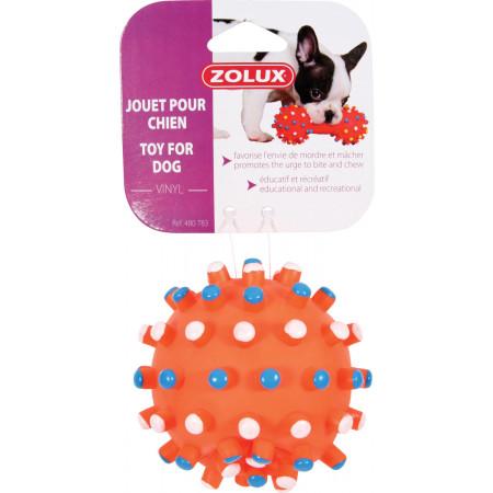Balle picots en vinyle pour chien