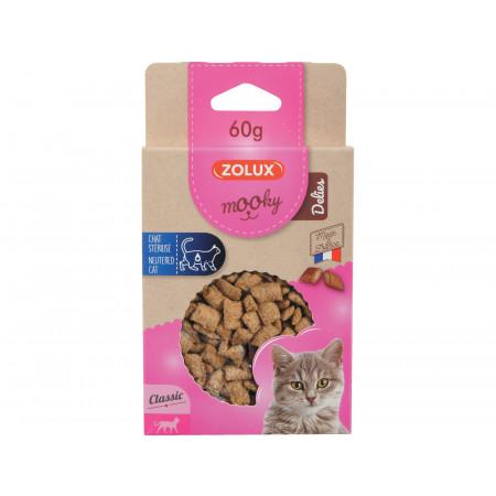 Friandises MOOKY chat stérilisé 60g