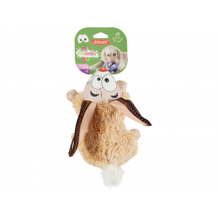 Jouet peluche sonore lapin