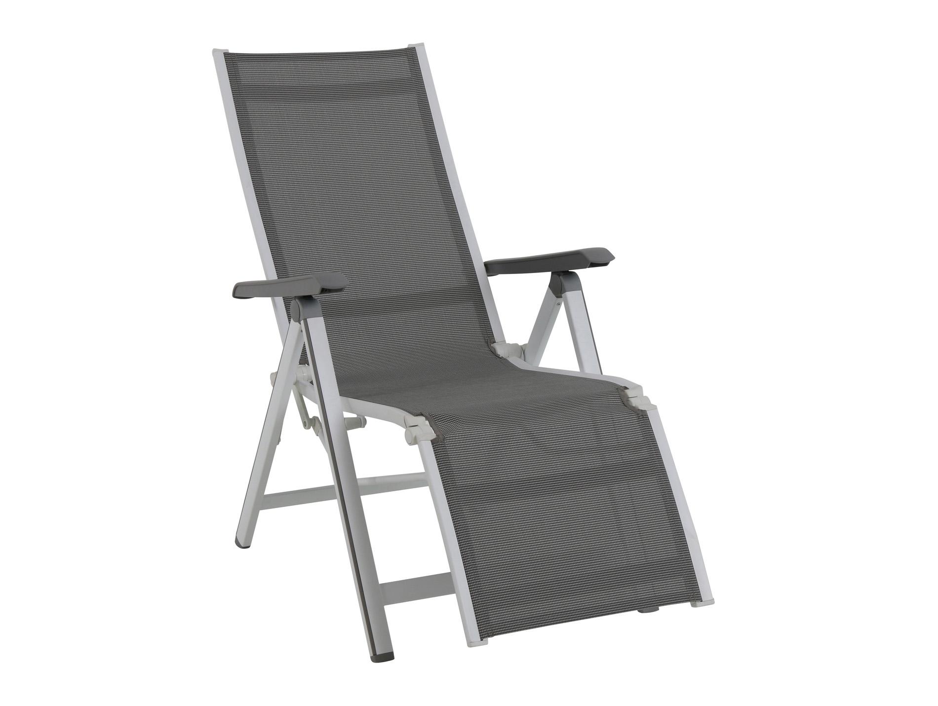fauteuil relax aluminium anthracite mobilier de jardin. Black Bedroom Furniture Sets. Home Design Ideas