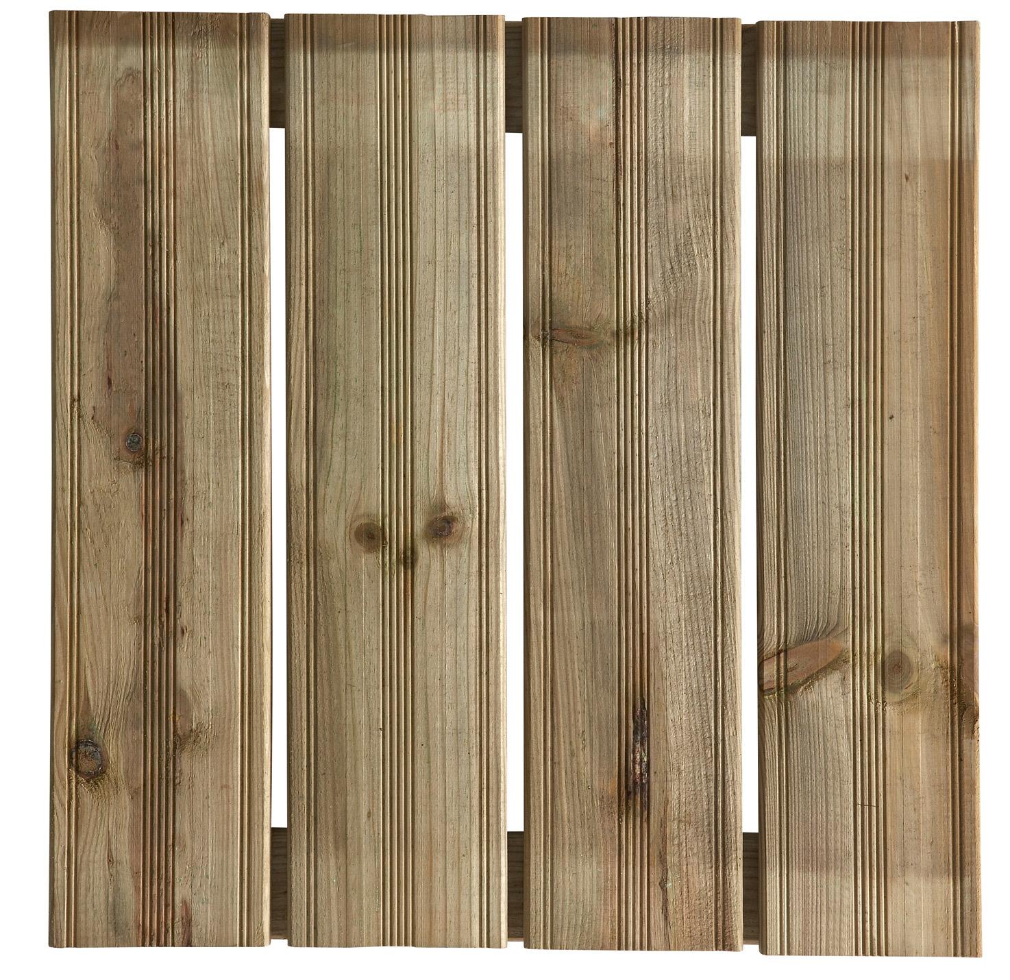 dalle bois lattes droites montana fsc 50x50 terrasse d 39 ext rieur am nagement ext rieur. Black Bedroom Furniture Sets. Home Design Ideas