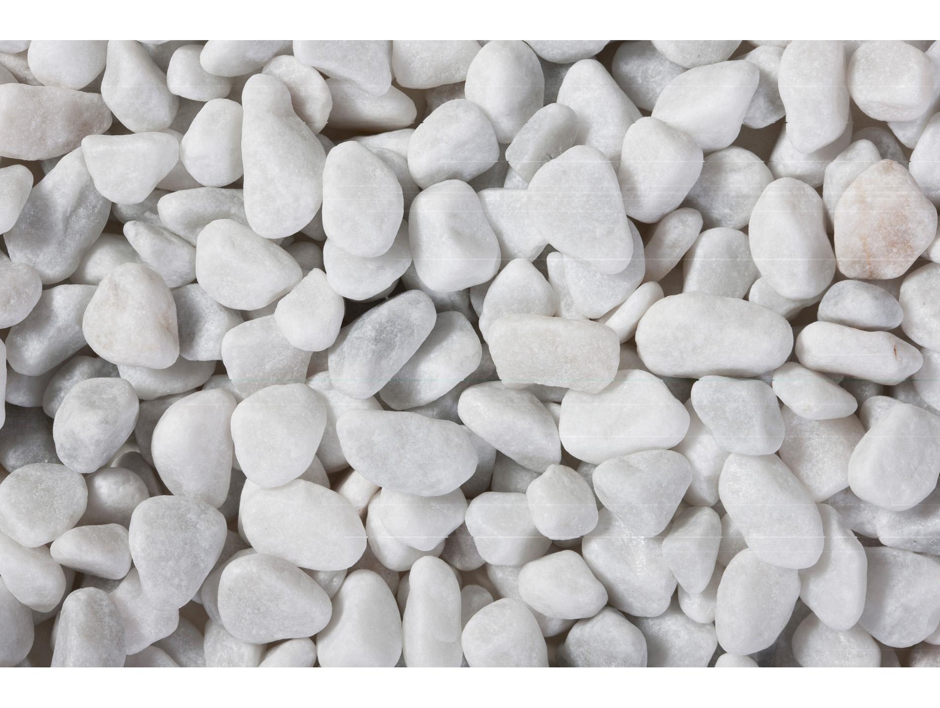 galet marbre blanc roul carrare 7 15 25kg gravier. Black Bedroom Furniture Sets. Home Design Ideas