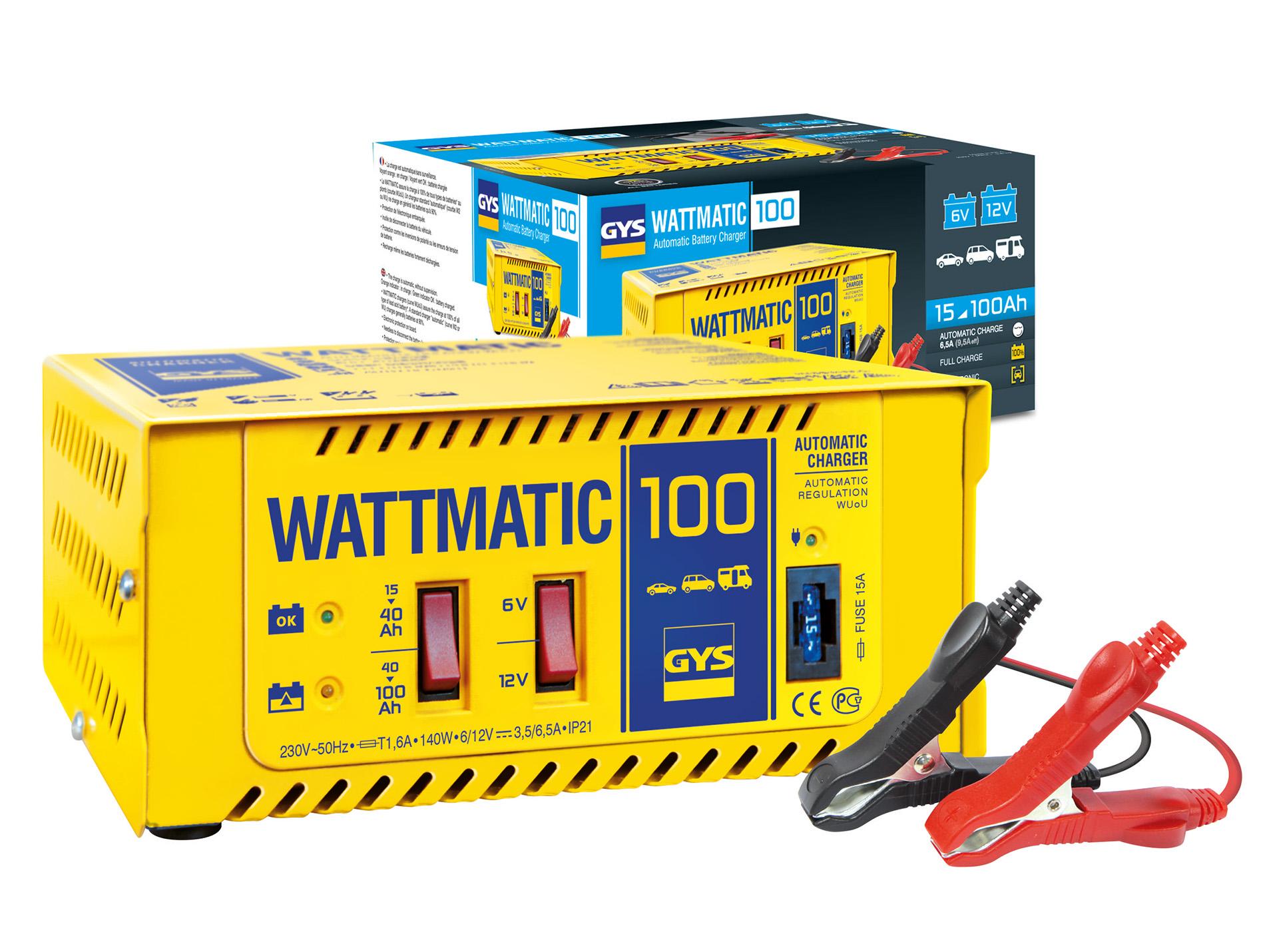 Chargeur de batterie GYS Wattmatic 140