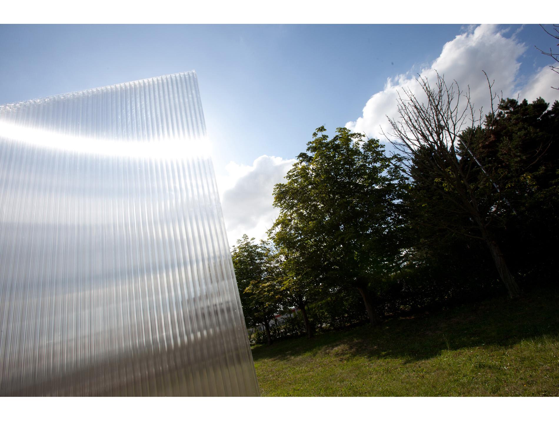 plaque polycarbonate clair 400x125cm 32mm. Black Bedroom Furniture Sets. Home Design Ideas