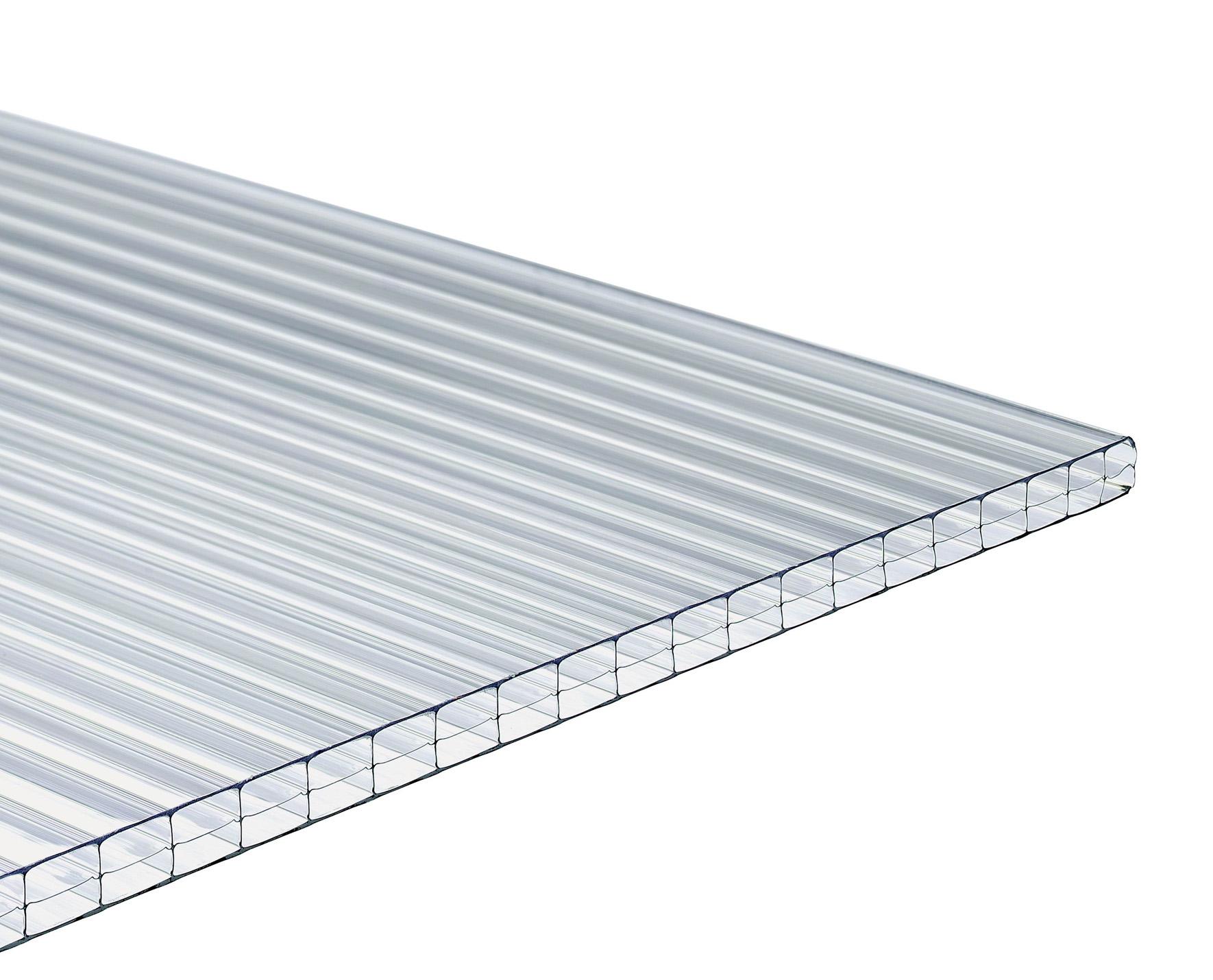 plaque polycarbonate lumisol 4 mm transparent 2 m. Black Bedroom Furniture Sets. Home Design Ideas