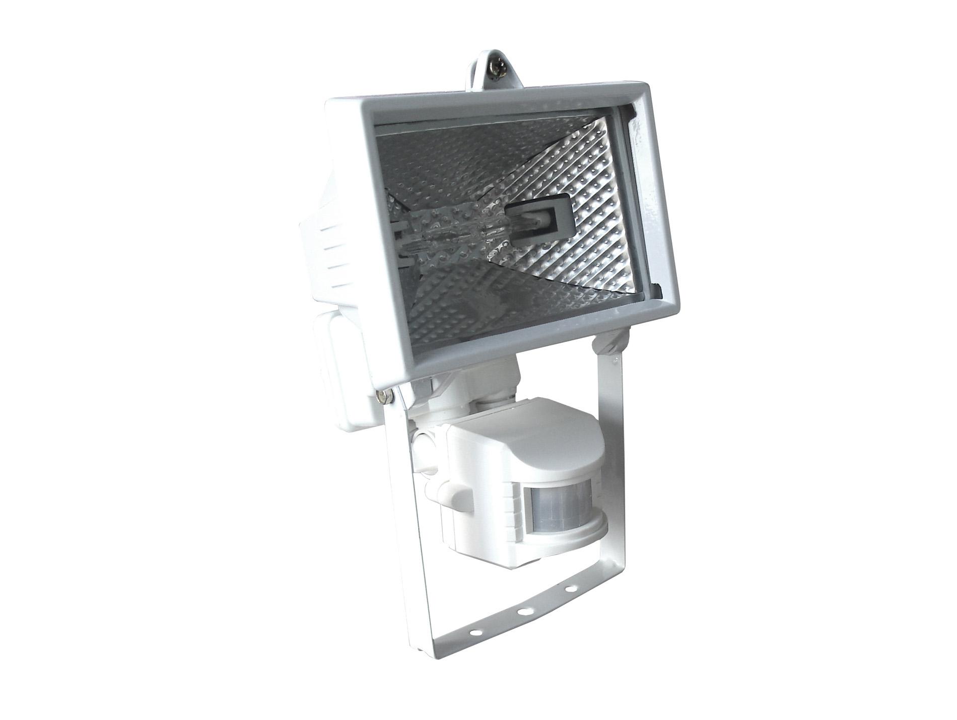 projecteur 120w avec d tecteur blanc projecteur hublot luminaire ext rieur eclairage. Black Bedroom Furniture Sets. Home Design Ideas