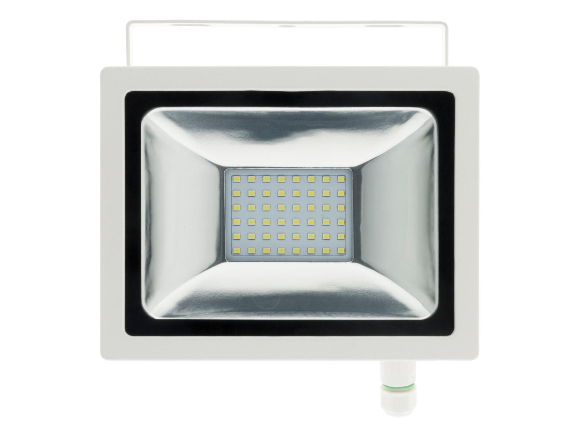 projecteur 48 led 20w blanc. Black Bedroom Furniture Sets. Home Design Ideas