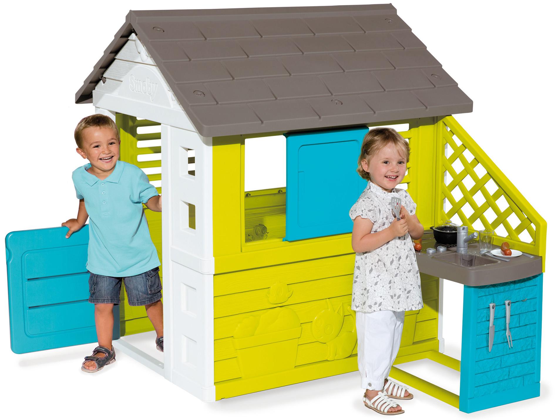 maison enfant pretty et cuisine smoby am nagement ext rieur. Black Bedroom Furniture Sets. Home Design Ideas