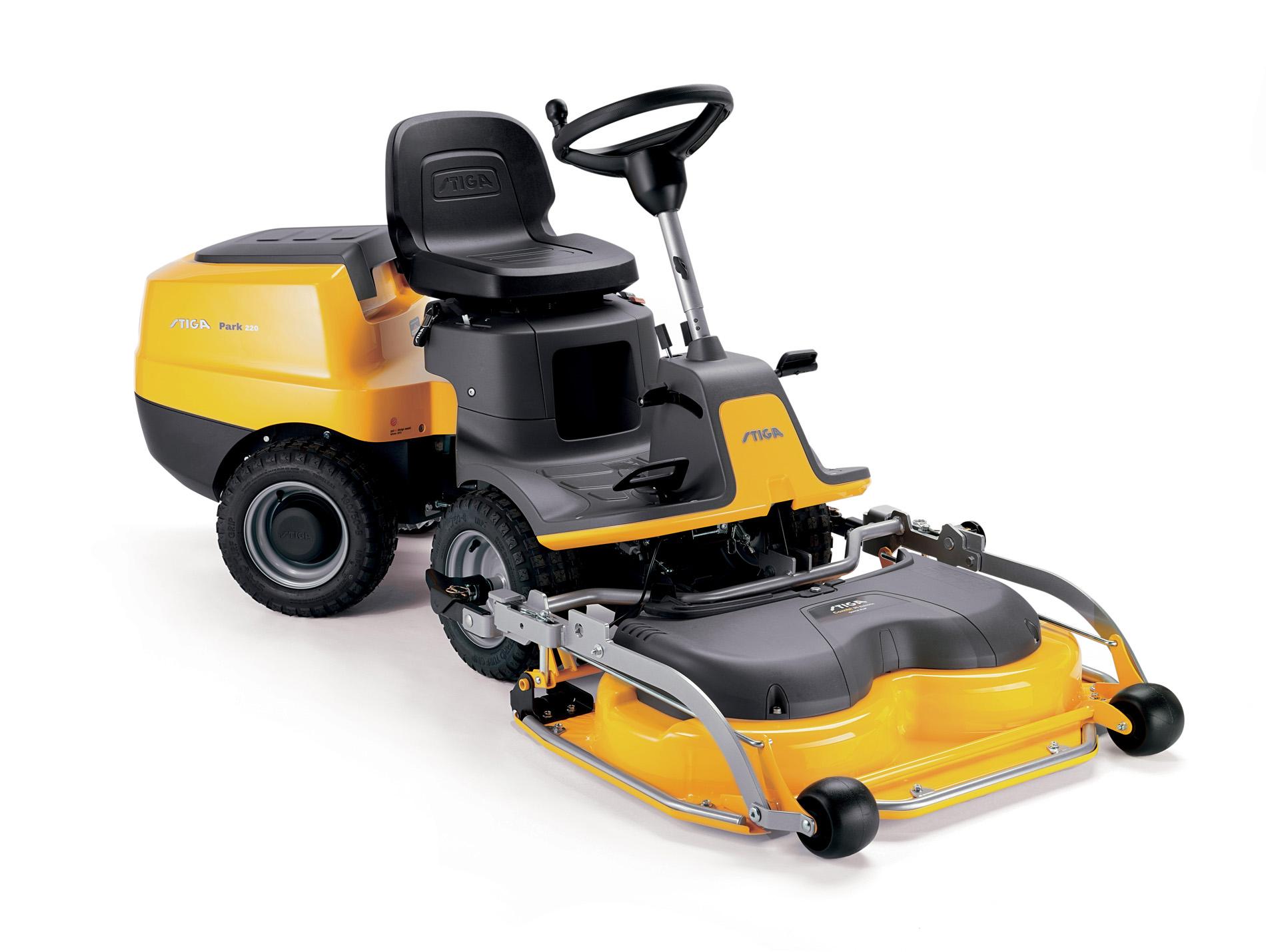 tracteur tondeuse coupe frontale stiga park220 344cc. Black Bedroom Furniture Sets. Home Design Ideas
