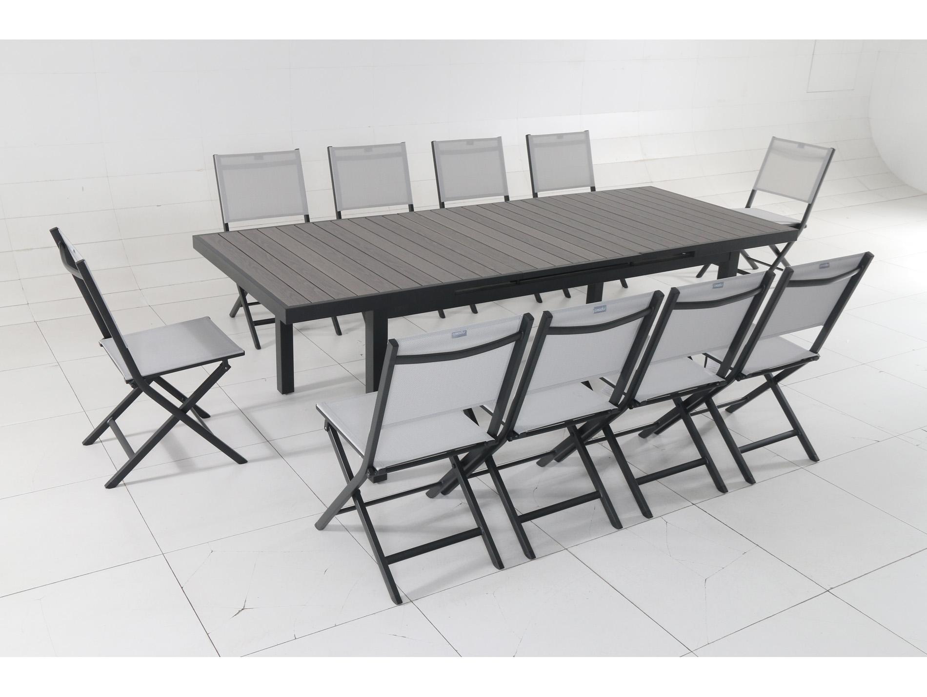 table aluminium bisca mobilier de jardin am nagement ext rieur. Black Bedroom Furniture Sets. Home Design Ideas