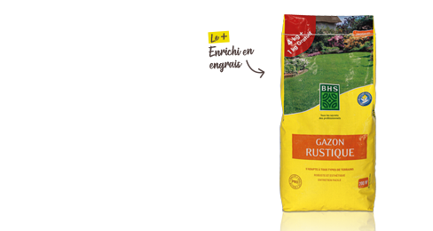 Gazon rustique 4 kg + 1 kg offert